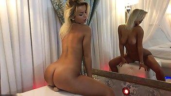 Cherry_Blonde Strip and Dildo Ride MFC Adinasweety cam porn videos