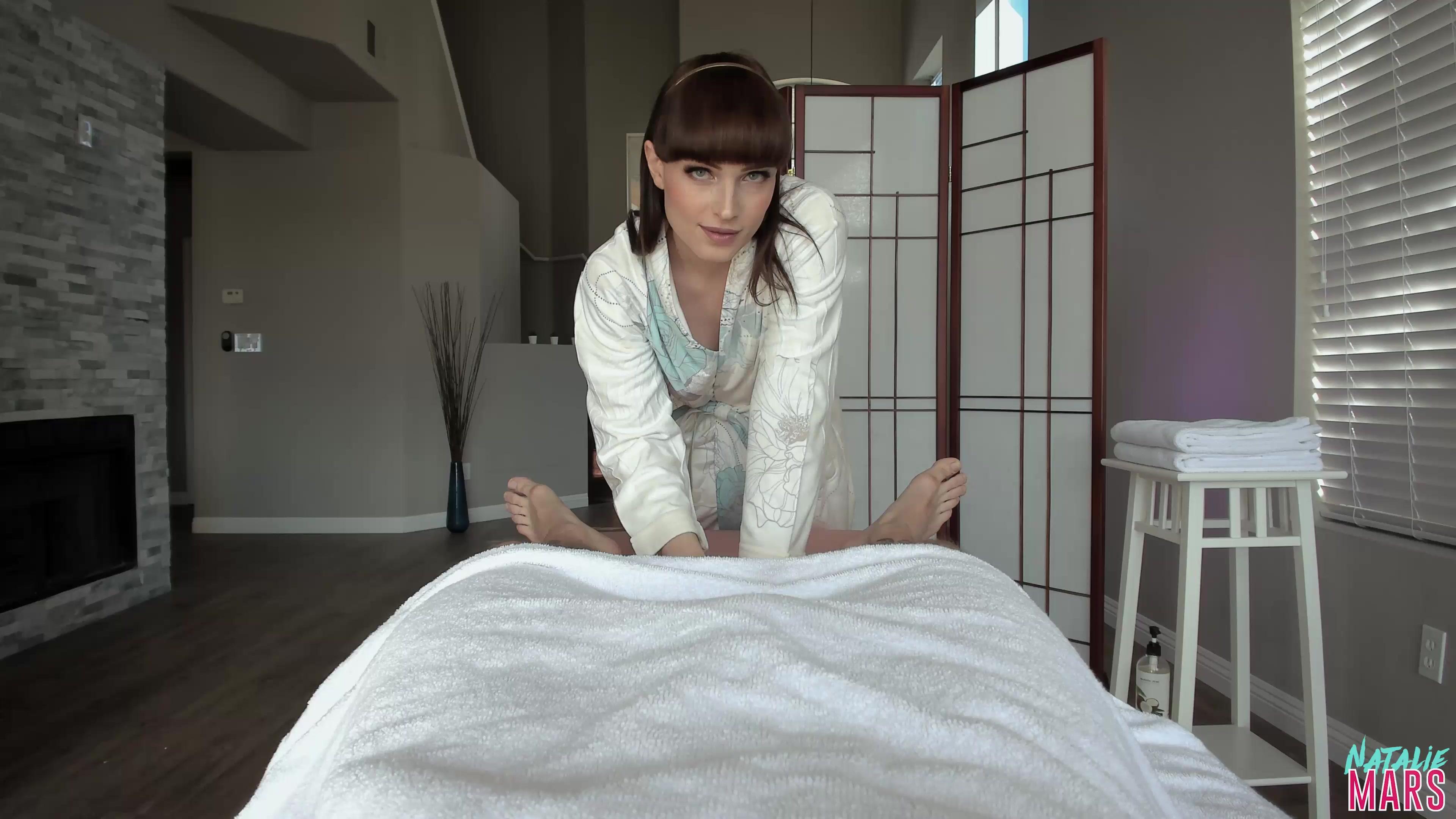 Girl Gets Happy Ending Massage